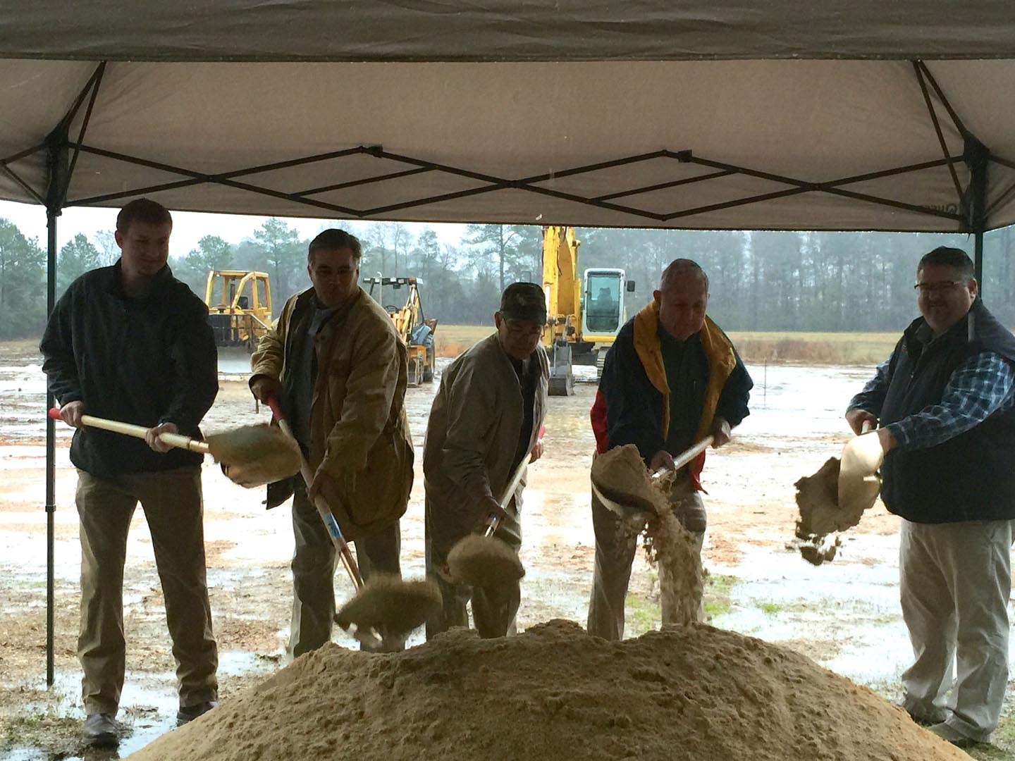 ISM Fabricators Groundbreaking